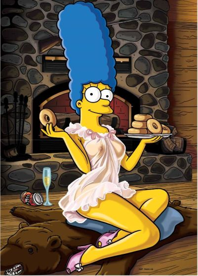 Marge simpson nackt think